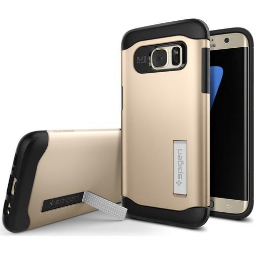 Spigen Samsung Galaxy S7 Edge Kılıf Slim Armor Champagne Gold - 556CS20040