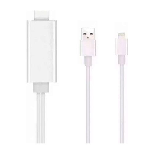 Case 4U iPhone 5/5s/6/6 Plus/6S/6S Plus/iPad HDMI Kablo