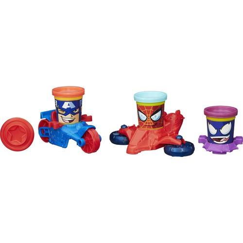 Play Doh Marvel Ikılı Araç Setı