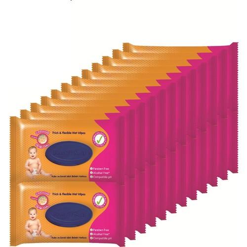 Fresh'n Soft Klasik Islak Mendil 24'lü Fırsat Paketi / 1536 Yaprak
