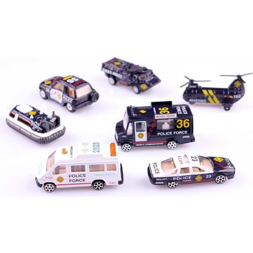 Nani Toys 7'li Polis Araçları Diecast Seti