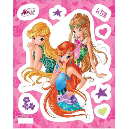 Artikel Fosforlu Duvar Sticker Winx WG-006