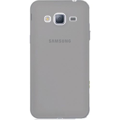 Case 4U Samsung Galaxy C5 Kılıf Ultra İnce Silikon Füme