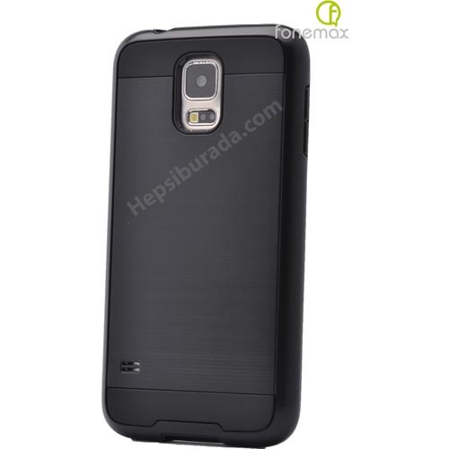 Case 4U Samsung Galaxy S4 Verus Korumalı Kapak Siyah*
