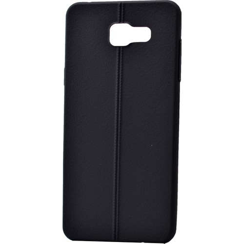 Case 4U Samsung A510 Galaxy A5 Desenli Silikon Kılıf Siyah
