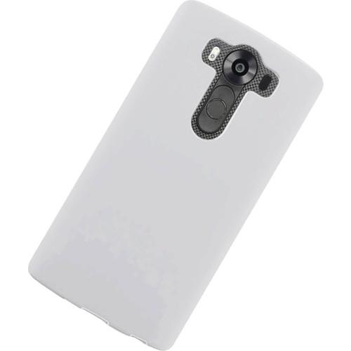 Case 4U Lg V10 Ultra İnce Silikon Kılıf Şeffaf
