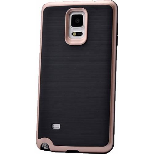 Case 4U Samsung Galaxy Note 4 Infinity Koruyucu Kapak Rose Gold