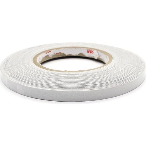 ModaCar 1 Cm Genişlik Beyaz Fosfor Şerit 25 Mt 540050