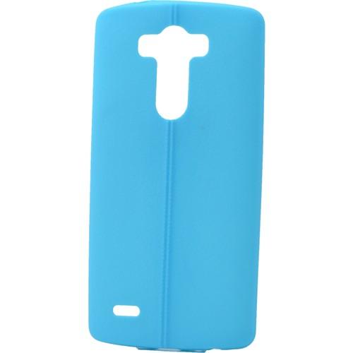 Case 4U Lg G4c Desenli Silikon Kılıf Mavi