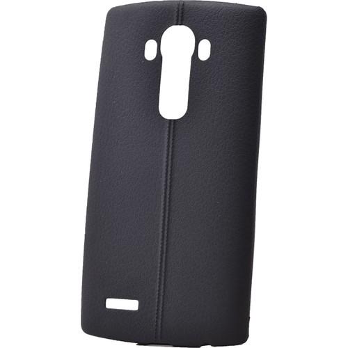 Case 4U Lg G4 Desenli Silikon Kılıf Siyah