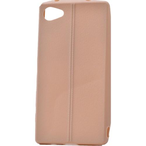 Case 4U Sony Xperia Z5 Compact Desenli Silikon Kılıf Altın