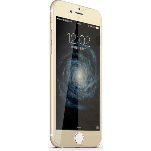 Case 4U Apple İphone 6 Aynalı Ekran Koruyucu Altın