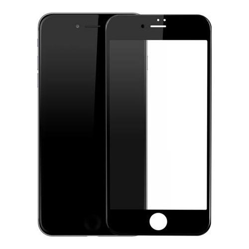 Case 4U Apple İphone 6 Plus Aynalı Kırılmaz Ekran Koruyucu Siyah