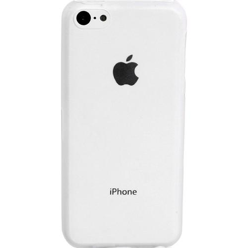 Case 4U iPhone 5c Şeffaf Kapak Ultra İnce 0,4 mm