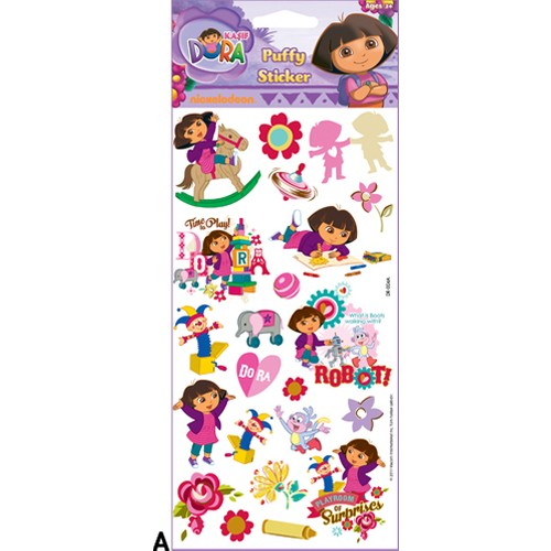 Artikel Dora Puffy Sticker DR-004