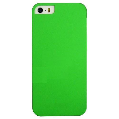 Case 4U Apple İphone 5 Sert Arka Kapak Yeşil