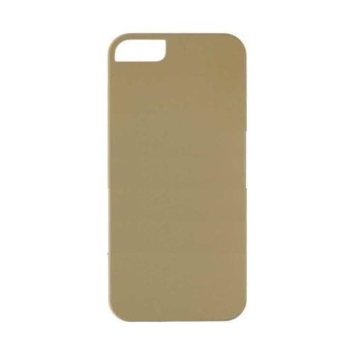 Case 4U Apple İphone 5 Sert Arka Kapak Altın