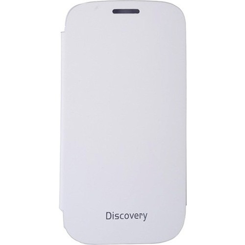 Case 4U General Mobile Discovery Flip Cover Beyaz
