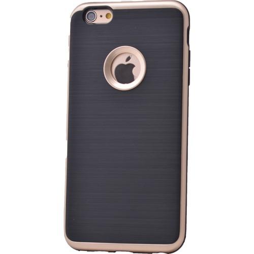 Case 4U Apple İphone 6S Korumalı Arka Kapak Altın