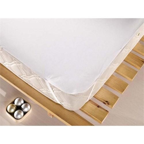 Eponj Home Sıvı Geçirmez Alez 90X190 Düz Boya Beyaz