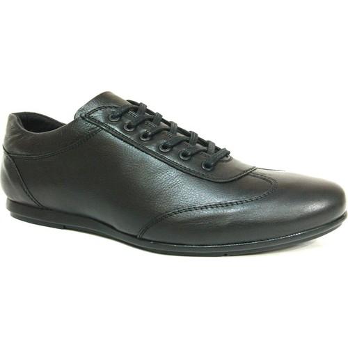 Darkwood 56103 Siyah Bağcıklı Casual Erkek Ayakkabı