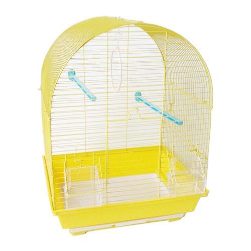 QH Oval Çatılı Kafes Sarı