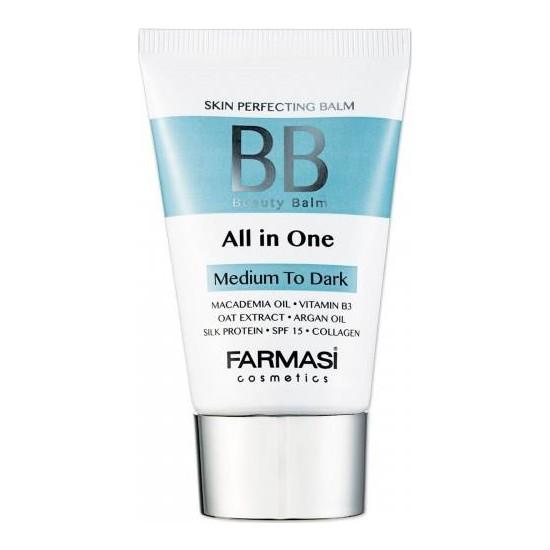 Farmasi BB All in One Krem Ortadan Koyuya Medium To Dark 50ML