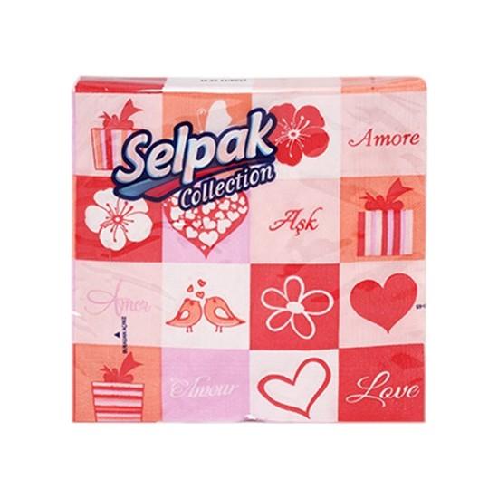 Selpak Collection Desenli Peçete 20'li