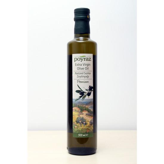 Poyraz Premium Natürel Sızma Zeytinyağı 500 ml