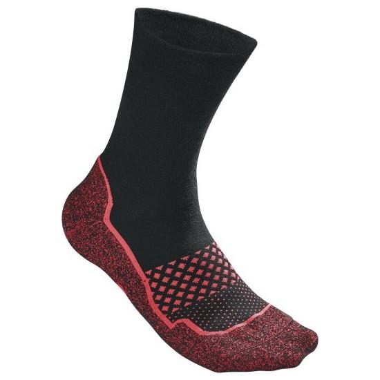 Wilson Amplifeel Erkek Çorabı 1PR/PK - Siyah / Fiery Coral ( WRA514704 )