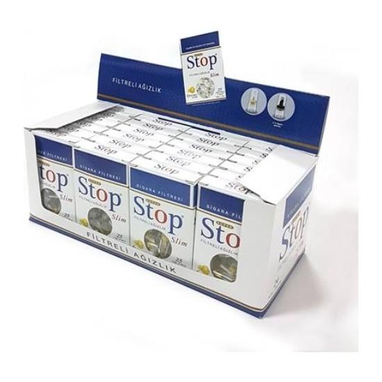 Stop Slim Filtreli Ağızlık 25'li - 24 Kutu