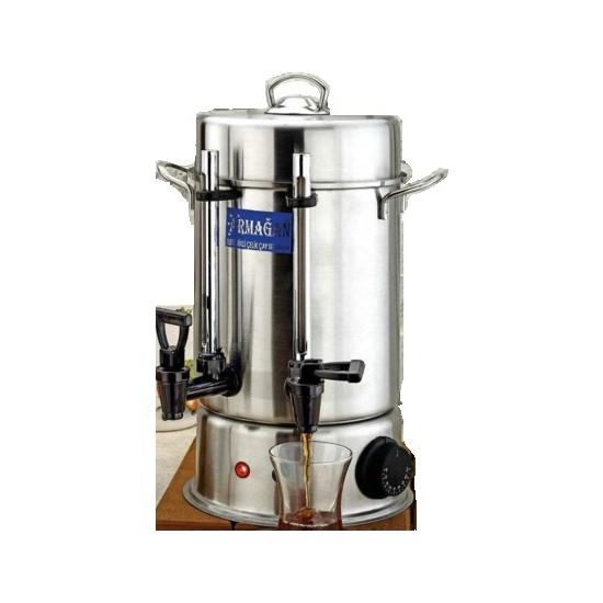 Armagan Çay Otomatı 80 Bardak Semaver Çay Kazanı