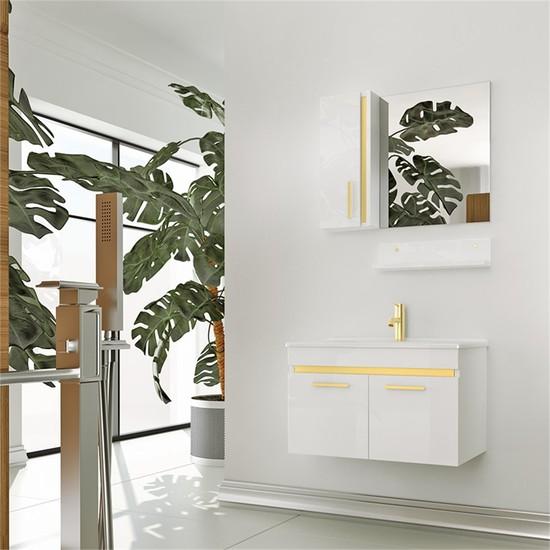 NPlus Acadia 75 cm Banyo Dolabı