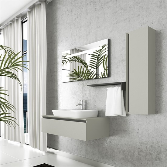 NPlus Baco 90 cm Banyo Dolabı