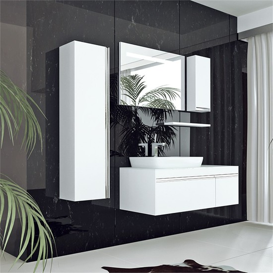 NPlus Camaro 120 cm Banyo Dolabı