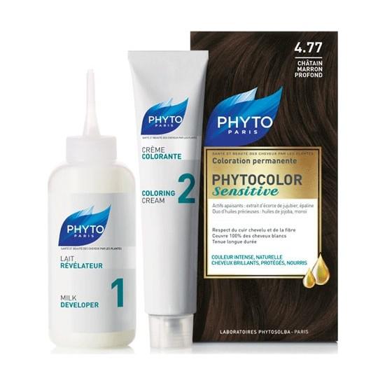 Phyto Phytocolor Sensitive Saç Boyası 4.77 Yoğun Çikolata Kahve