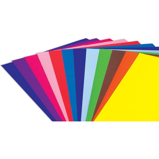 Bafix Fon Kartonu 120Gr 50-70Cm 10 Renk