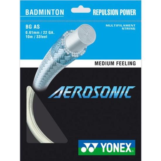 Yonex Bg Aerosonıc Badminton Kordajı Beyaz (10M)