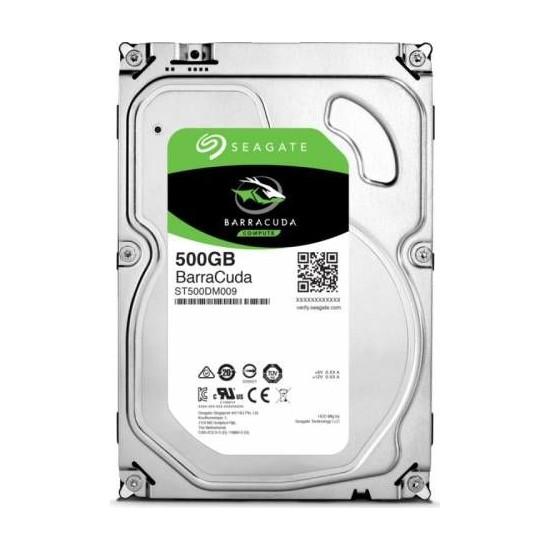 """Seagate Barracuda 500GB 3.5"""" 7200RPM 32MB SATA 3.0 NCQ Sabit Disk ST500DM009"""