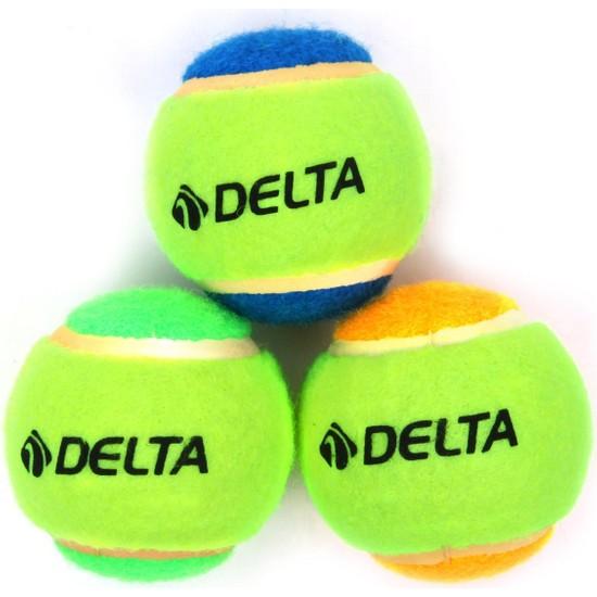 Delta 3 Adet Renkli Tenis Topu