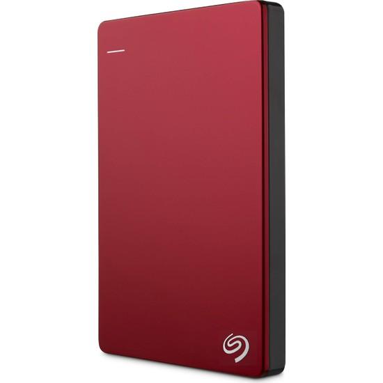 "Seagate Backup Plus 2TB 2.5"" USB 3.0 Taşınabilir Disk - Kırmızı (STDR2000203)"