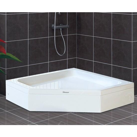 Batura Beşgen Duş Teknesi (Panelli) 100*100