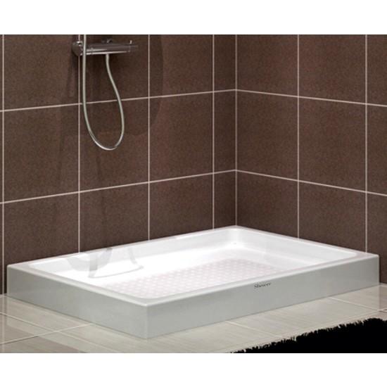 Shower Dikdörtgen Monoblok Duş Teknesi 70*110