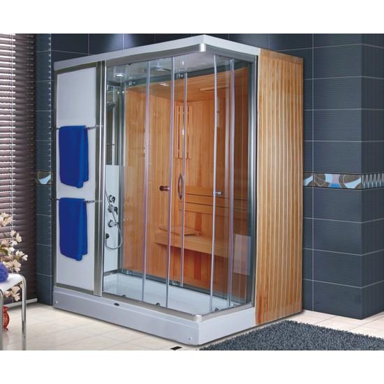 Shower Bellıssa Sauna & Compact 100*120 - Sistem - Iv -