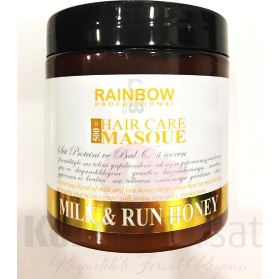 Marjinal Rainbow Milk Run Honey Saç Maskesi 500 Ml