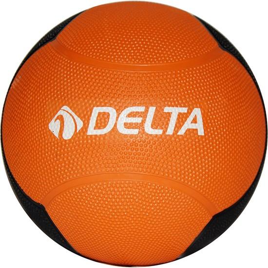 Delta Sağlık Topu Zıplayan 6 Kg Turuncu/Siyah - DST 7556