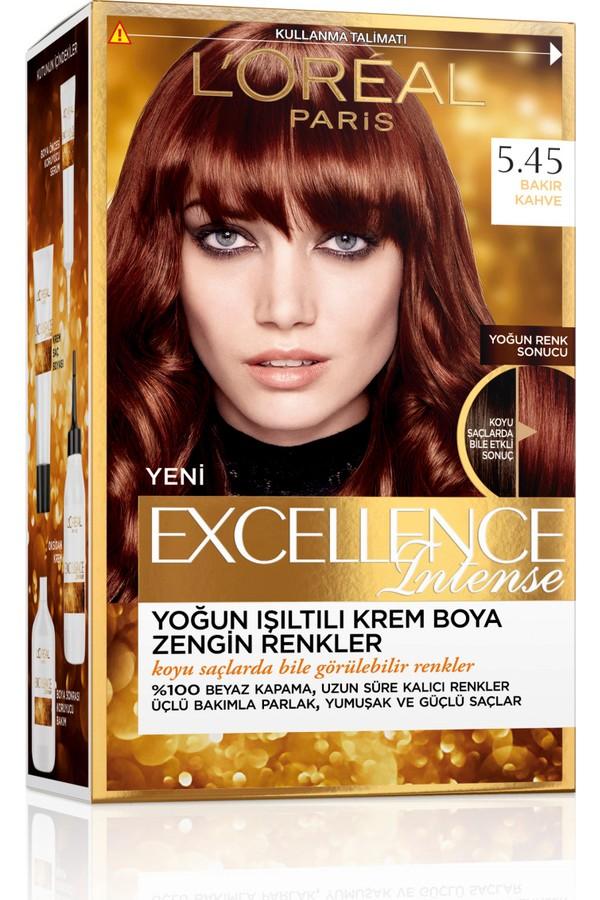 Loreal Paris Excellence Hair Color 5.45 Copper Coffee