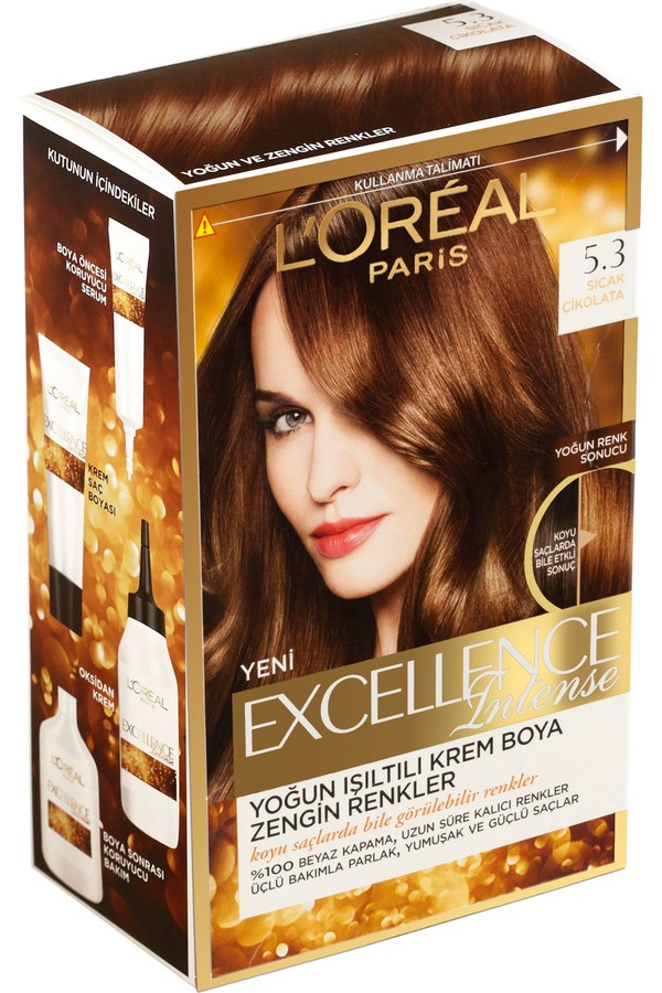 Loreal Paris Excellence Hair Color Hot Chocolate 5.3