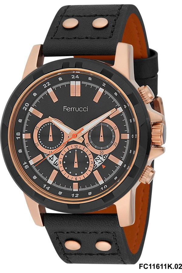 Ferrucci Water Resistant Men's Watch 8FK624