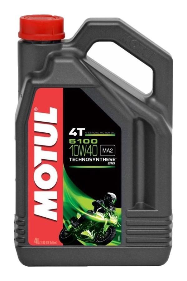 Motul Motorcycle Oil 4T 5100